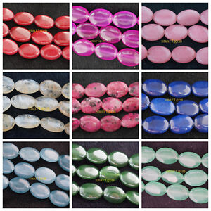 13x18mm colorful gemstones oval loose beads 15 quot ebay