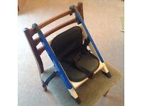 Stokke handysitt high chair in blue
