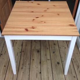 Square Ikea Lerhamn Table
