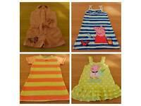 Girl's Summer Dresses Bundle Peppa Pig size 3-4 years