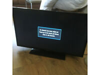 """Panasonic TX-39A300B 39"""" slim LED TV Full 1080P with built in freeview and USB media player"""