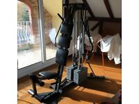 Exerciser all round fitness machine.