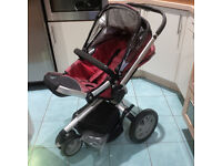 Quinny Buzz Stroller (Red)