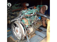 VOLVO TD61 6 cylinder diesel engine and gearbox for VOLVO FL6 truck.