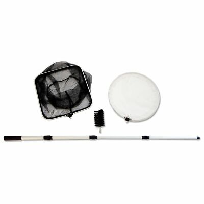 Velda (VT) 3-in-1 Pond Maintenance Set 51-151cm with Net Algae Brush 148017