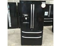 Black RangeMaster A+ No Frost American F-F With Water Dispenser(BRING YOUR OLD ONE AND GET NEW -25%)