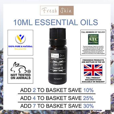 Essential Oils 10ml - Natural 100% Pure Essential Oil - Freshskin Aromatherapy