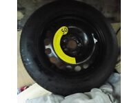 Vauxhall mokka spare wheel