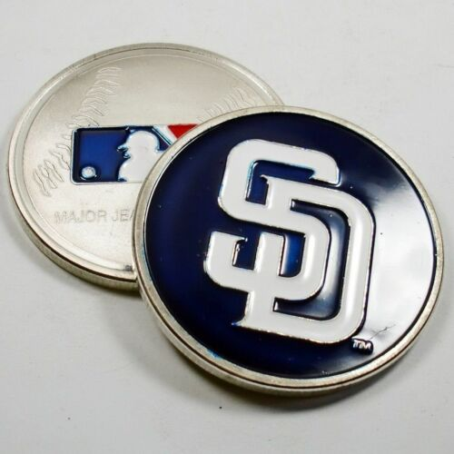 MLB San Diego Padres Poker Chip Card Guard Challenge Coin Golf Marker