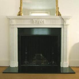 Antique Victorian & Georgian marble Fireplace Surround