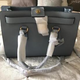 New Michael Kors light blue handbag