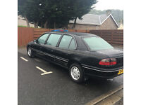 VAUXHALL OMEGA LIMOUSINE ONLY 52000