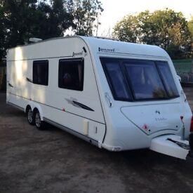 2008 Elddis Avante Club 6 Berth Twin Wheel Caravan