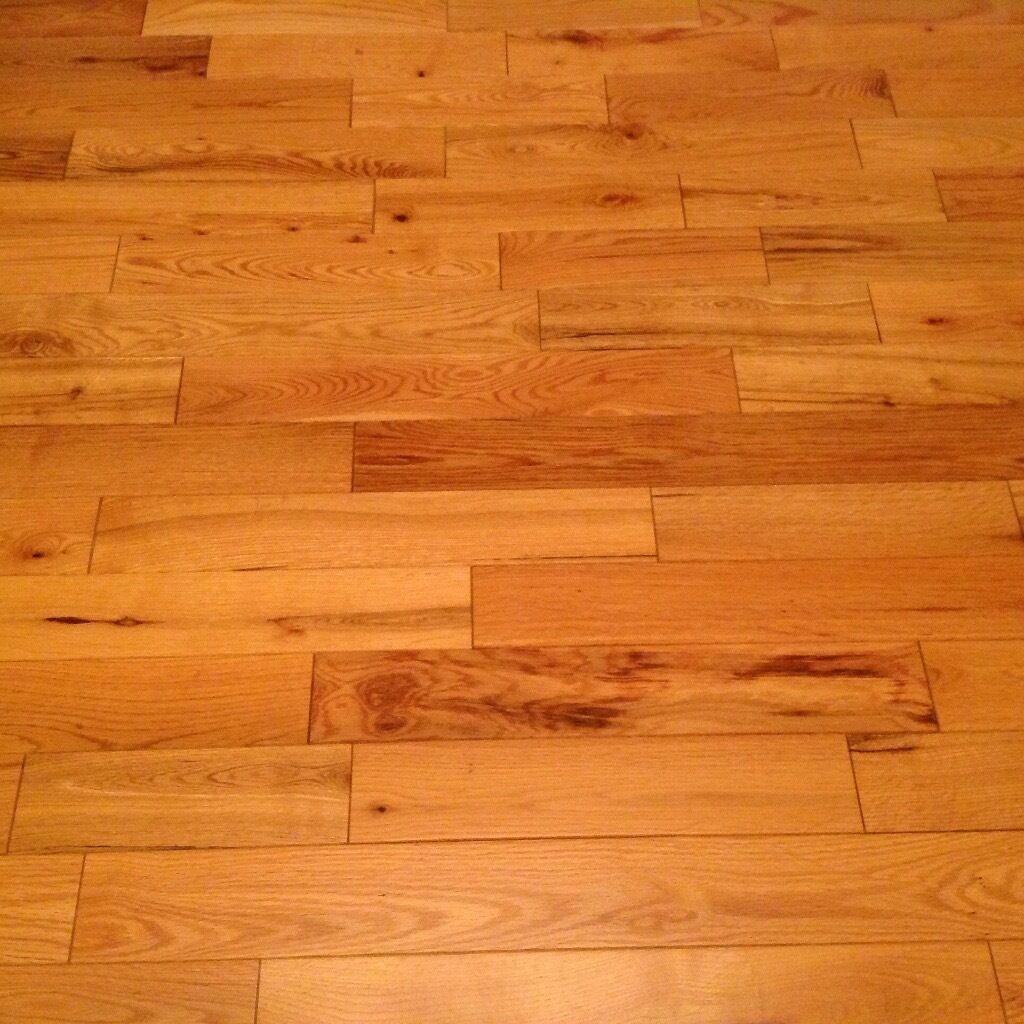Solid Oak wooden floor