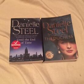 Danielle Steel Books ( Until the End of Time, The Duchess )