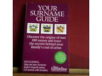 BOOK ON SURNAMES