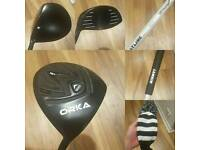 Orka Driver 10 degrees with Reg Shaft
