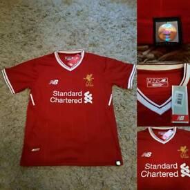 Liverpool home shirt, brand new