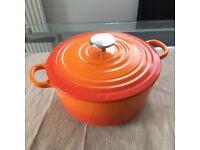 FOR SALE: Cast Iron Pot like Le Creuset