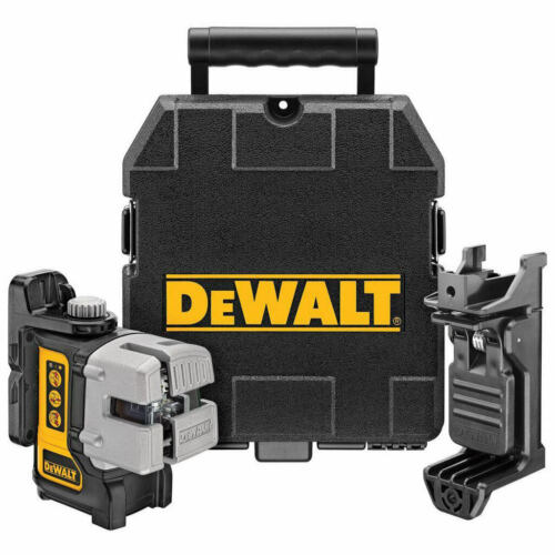 DEWALT DW089K 3 Beam Red Line Laser Kit