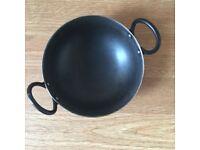 Kadhai/Cooking Utensils/Pots & Pans/Iron pan/Iron Karahi/saucepan/kitchen