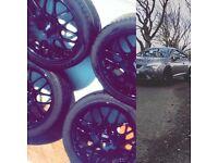 "18"" black Audi alloys"