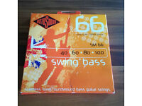 Rotosound SM66 Swing Bass Stainless Steel Bass Guitar Strings 40-100