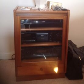 Sony Music Components and Teak G Plan unit.