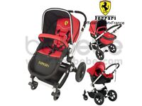 Ferrari 3 in 1 pushair from birth to up 4 yr