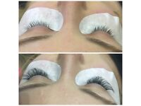3d eyelashes extension 25£