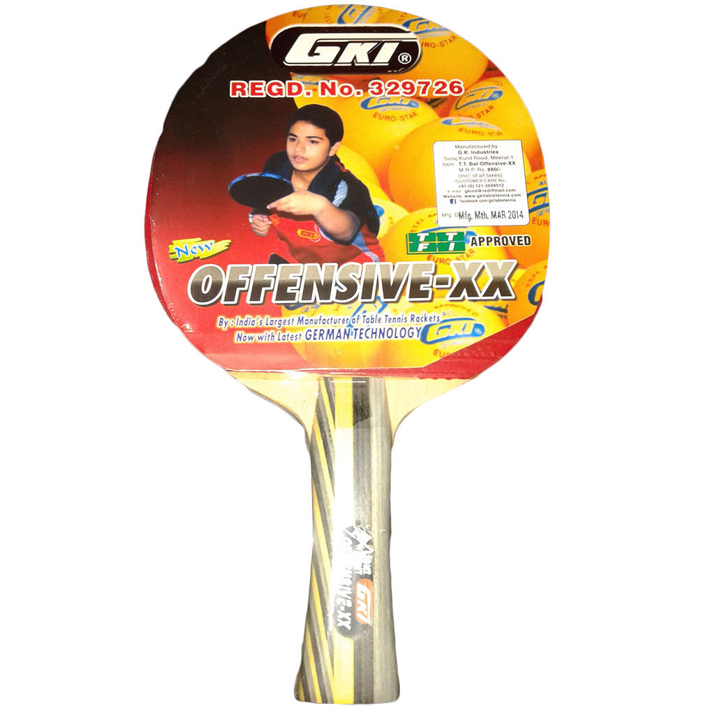 Table Tennis  Racket Offensive XXGKI Fast Table Tennis Bats