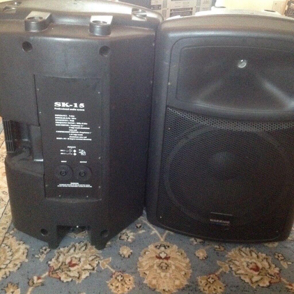 Warrior SK-15 definitive audio speakers   in Dartford, Kent   Gumtree