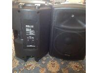 Warrior SK-15 definitive audio speakers