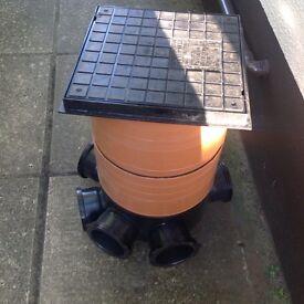 For sale brand new plastic manhole.