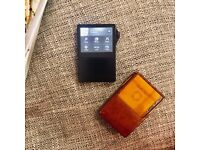 Astell & Kern AK120 Portable Music Player 64GB + Double 128GB with Leather Case 90% New