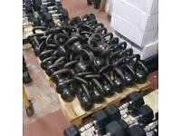 8kg cast iron kettlebells. £12 each