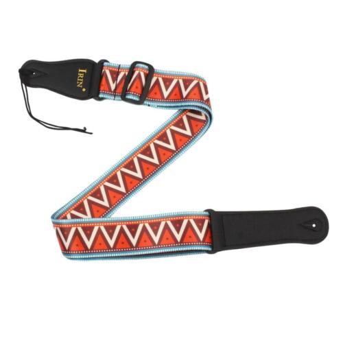 cinturino regolabile per chitarra acustica regolabile con cinturino in irin