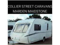 Abbey spectrum 215/2 berth caravan + movers Maidstone Kent
