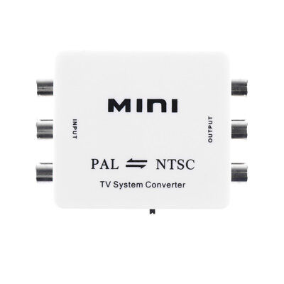 PAL/NTSC/SECAM to MINI Bi-directional TV System Switcher Converter Adapter Tv System Ntsc Pal