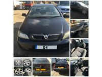 Vauxhall Astra 16v Bertone Coupe 1.8 Petrol Manual Black 2004 PAINT CODE 2UU Front Panel all parts