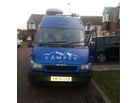 Campervan Ford, TRANSIT, Panel Van, 2004, Manual, 2402 (cc)