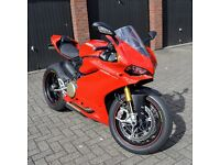 Ducati 1299S Panigale with Akrapovic Titanium Exhausts