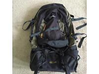 Berghaus jalan 70 + 15 litre travel backpack wheeled bag rucksack suitcase