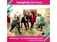 SwingTrain Jazz inspired dance fitness