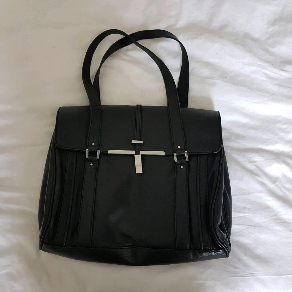 Fiorelli Black Leather Handbag