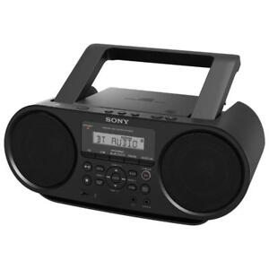 Sony ZS-RS60BT Bluetooth Portable Boombox - Black NEW