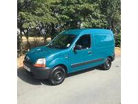 Lovely 2002 Renault Kangoo 665 Diesel van. 1.9 MOT March 2019 credit cards accepted