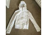 White summer coat