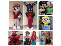 Party Characters and Mascots. We provide a range of character entertainment for all parties/events.