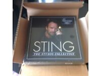 Sting Vinyl Box Set The Studio Collection